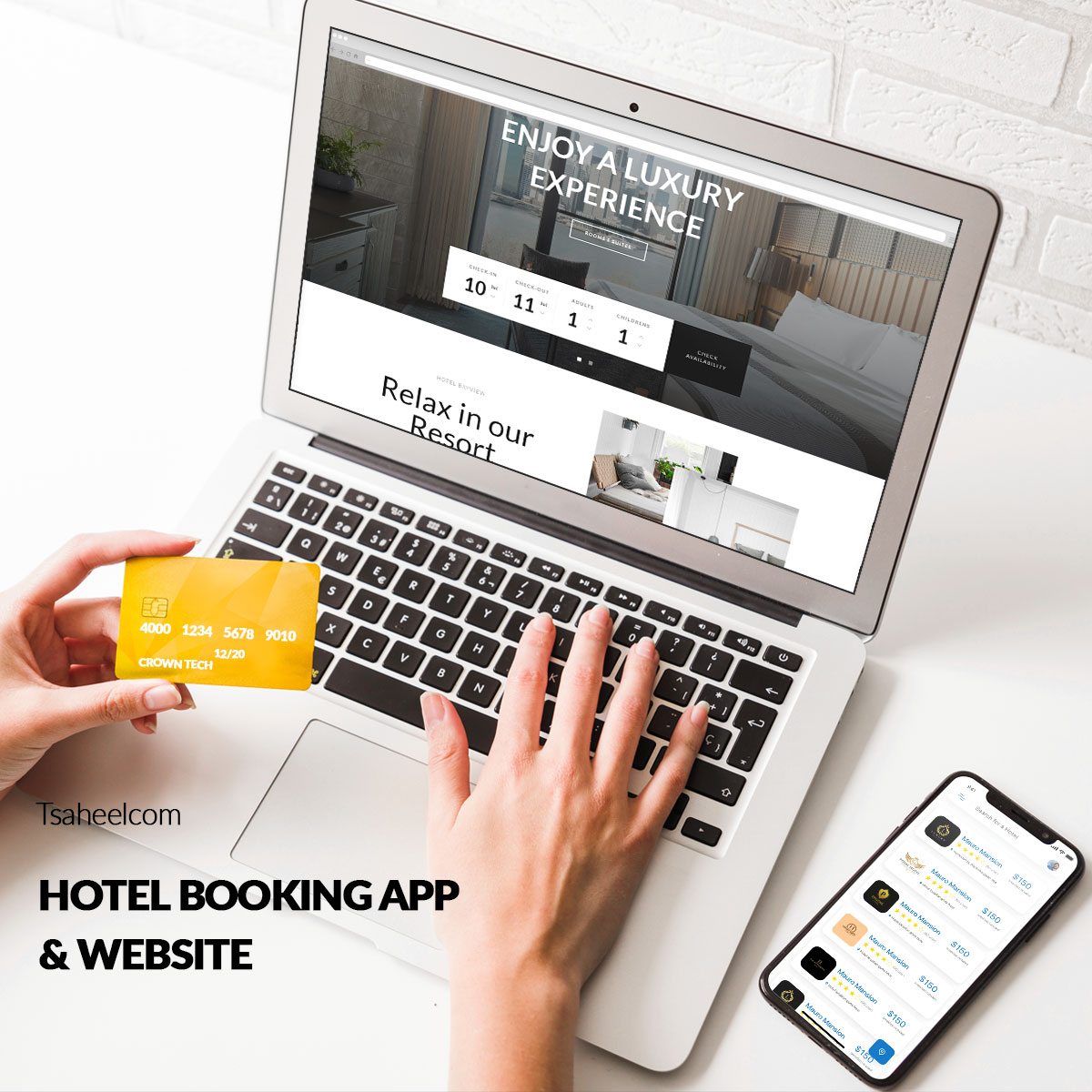 Hotel Booking App & Website