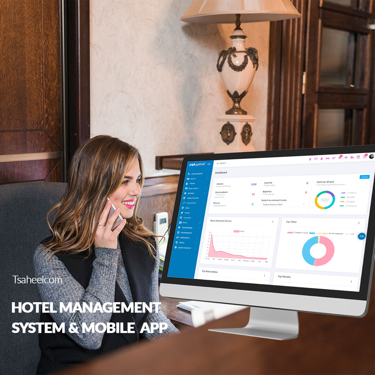 Hotel Management system & Mobile App